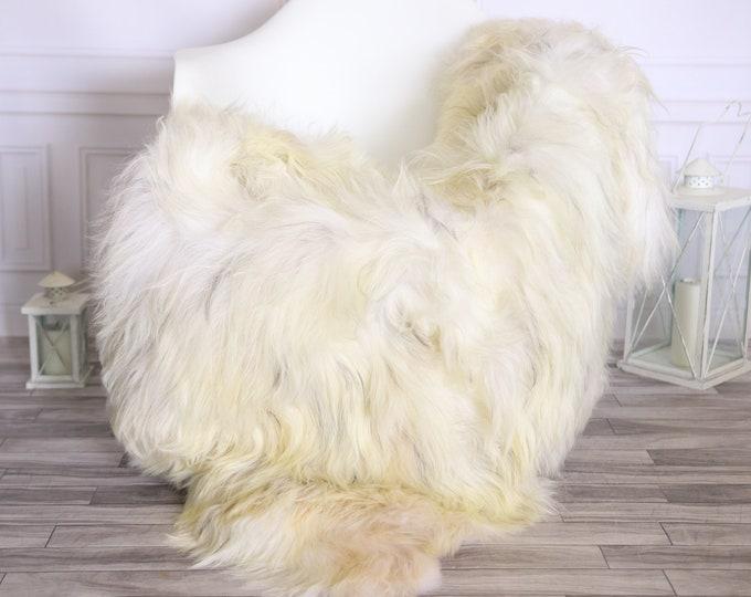 Icelandic Sheepskin | Real Sheepskin Rug |  Super Large Sheepskin Rug Blonde | Fur Rug | Homedecor #MIHISL4