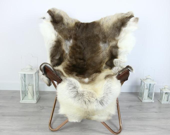 Reindeer Hide | Reindeer Rug | Reindeer Skin | Throw XXL EXTRA LARGE - Scandinavian Style #HRE10