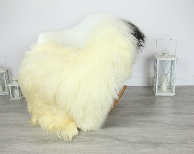 Icelandic Sheepskin | Real Sheepskin Rug | | Large Sheepskin Rug Ivory | Fur Rug | Homedecor | Sheepskin Throw | Long fur #colisl2
