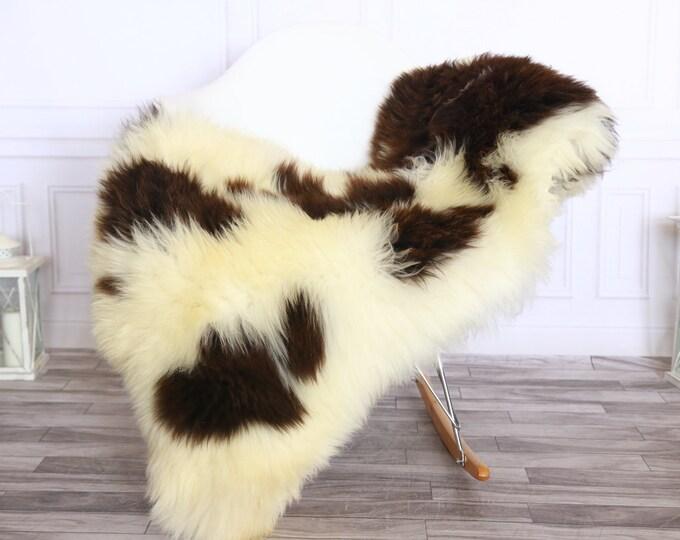 Sheepskin Rug | Real Sheepskin Rug | Shaggy Rug | Sheepskin Throw | Sheepskin Rug Beige Brown | Chirtmas Home Decor | #1HER60