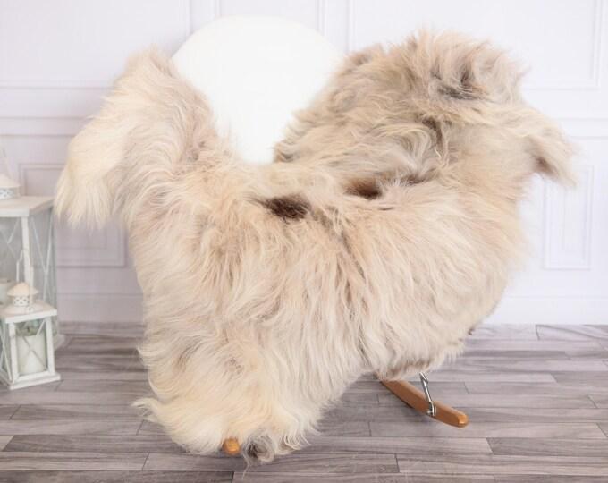 Organic Sheepskin Rug, Real Sheepskin Rug, Gute Sheepskin,Beige Sheepskin Rug #GUTEFEB14
