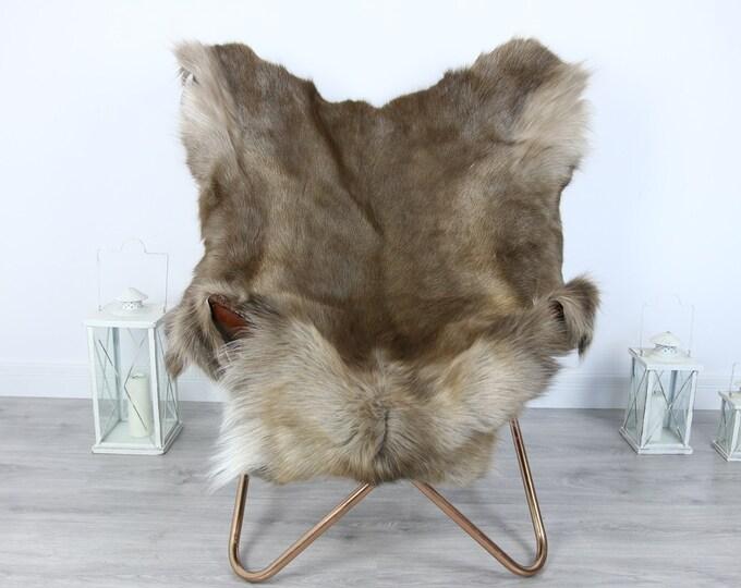 Reindeer Hide   Reindeer Rug   Reindeer Skin   Throw XXL EXTRA LARGE - Scandinavian Style #HRE15