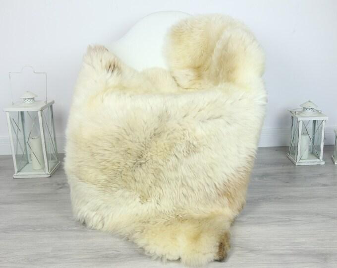 Sheepskin Rug | Huge Real Sheepskin Rug | Shaggy Rug | Chair Cover | XXL Sheepskin Throw | Beige Brown Sheepskin | Home Decor | #PRYMHER7