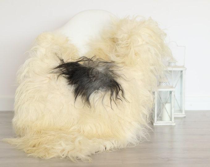 Real Icelandic Sheepskin Rug Scandinavian Decor Sofa Sheepskin throw Chair Cover Natural Sheep Skin Rugs Ivory Blanket Fur Rug #4isl5