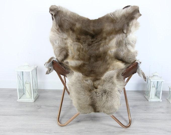 Reindeer Hide | Reindeer Rug | Reindeer Skin | Throw XXL EXTRA LARGE - Scandinavian Style #HRE6