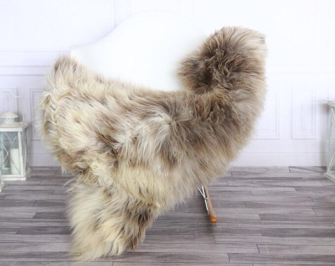 Sheepskin Rug | Real Sheepskin Rug | Shaggy Rug | Sheepskin Throw | Sheepskin Rug Beige Brown | Chirtmas Home Decor | #1HER41