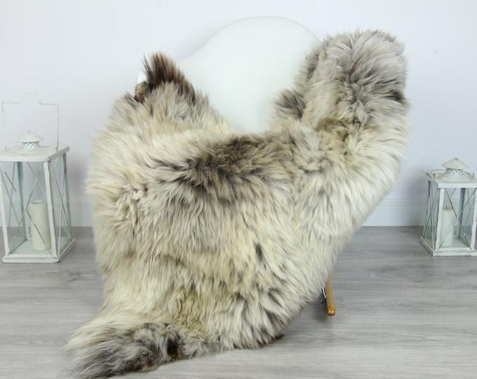 Sheepskin Rug | Huge Real Sheepskin Rug | Shaggy Rug | Chair Cover | XXL Sheepskin Throw | Gray Brown Sheepskin | Home Decor | #PRYMHER8
