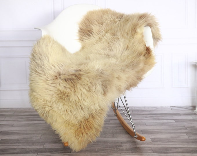 Sheepskin Rug | Real Sheepskin Rug | Shaggy Rug | Sheepskin Throw | Sheepskin Rug Brown | Chirtmas Home Decor | #1HER36