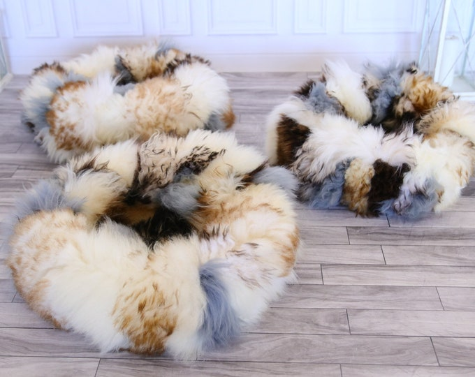 Real fur cat dog bed | Sheepskin Cat Dog bed | Sheepskin cat dog pouf | Pet Bed Pet House | Fur Pet Bed