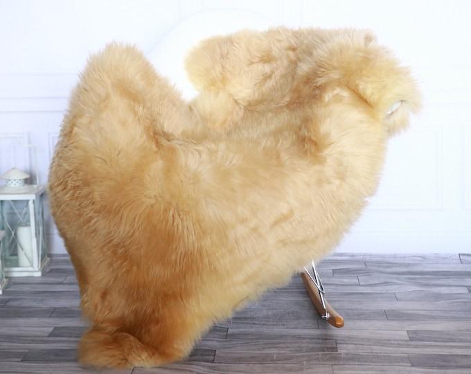 Sheepskin Rug | Real Sheepskin Rug | Shaggy Rug | Sheepskin Throw | Sheepskin Rug  Ivory | Chirtmas Home Decor | #1HER18