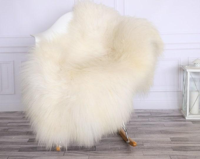 Icelandic Sheepskin | Real Sheepskin Rug | CHRISTMAS DECOR | Sheepskin Rug White Ivory | Fur Rug | Homedecor #LISISL28