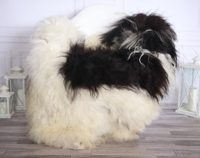 Icelandic Sheepskin | Real Sheepskin Rug | Beige Brown Sheepskin Rug | Fur Rug |Scandinavian dedcor | #ISLSKL40