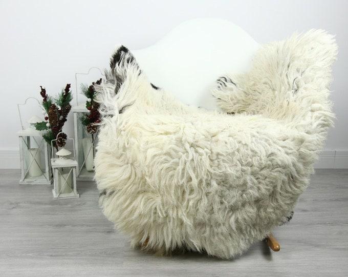 Organic Sheepskin Rug, Real Sheepskin Rug, Curly Sheepskin, Gray Beige Sheepskin Rug Christmas Home #CURLGUT16