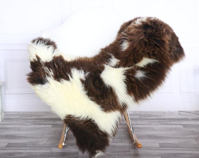 Sheepskin Rug   Real Sheepskin Rug   Shaggy Rug   Sheepskin Throw   Sheepskin Rug White Brown   Chirtmas Home Decor   #1HER42