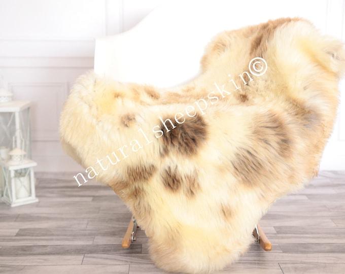 Sheepskin Rug | Real Sheepskin Rug | Shaggy Rug | Scandinavian Rug | | SCANDINAVIAN DECOR | Carmel Beige Sheepskin  #FEBHER28