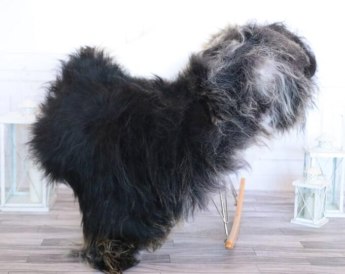 Icelandic Sheepskin | Real Sheepskin Rug | Gray Sheepskin Rug | Fur Rug | Christmas Decorations #ISLA1