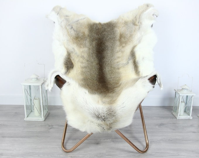 Reindeer Hide | Reindeer Rug | Reindeer Skin | Throw XXL EXTRA LARGE - Scandinavian Style #HRE5