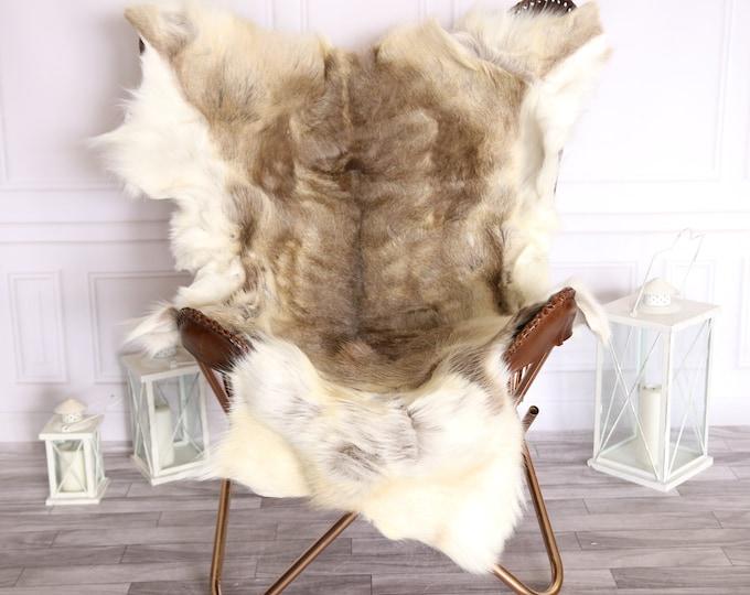 Reindeer Hide | Reindeer Rug | Reindeer Skin | Throw Large  - Scandinavian Style #BRE8