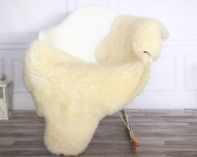 Curly Sheepskin Rug | Real Sheepskin Rug | Shaggy Rug | Sheepskin Throw | Sheepskin Rug Beige | Chirtmas Home Decor | #1HER35