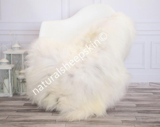 Icelandic Sheepskin | Real Sheepskin Rug | Ivory Sheepskin Rug | Fur Rug | Homedecor #febisl16