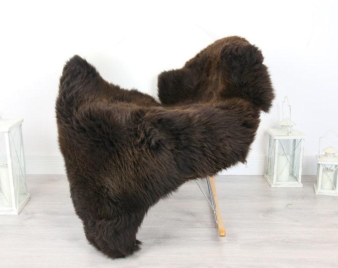 Sheepskin Rug   Real Sheepskin Rug   Shaggy Rug   Scandinavian Rug   Sheepskin Throw Brown Sheepskin   SCANDINAVIAN DECOR   #5HER20