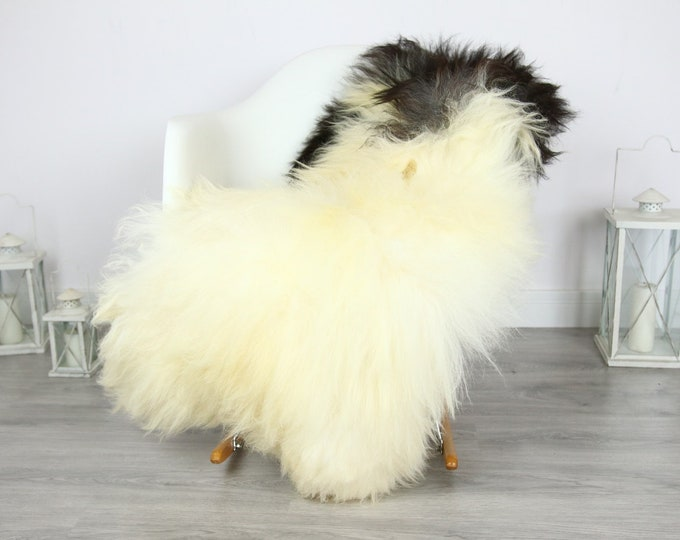 Icelandic Sheepskin | Real Sheepskin Rug | | Large Sheepskin Rug ivory  | Fur Rug | Homedecor | Sheepskin Throw | Long fur #colisl20
