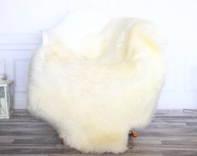 Sheepskin Rug | Real Sheepskin Rug | Shaggy Rug | Sheepskin Throw | Sheepskin Rug White Ivory | Chirtmas Home Decor | #1HER21