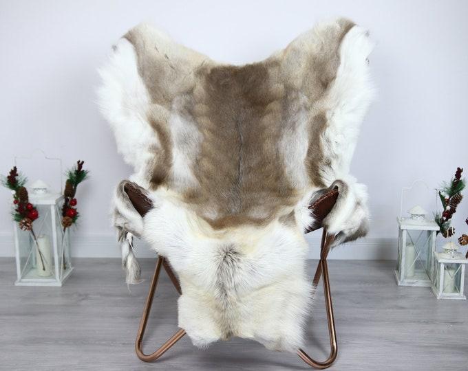 Reindeer Hide | Reindeer Rug | Reindeer Skin | Throw  - Scandinavian Style #ERE17 150x100 | Christmas Decor |