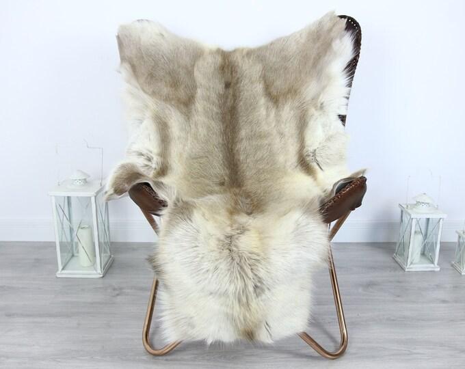 Reindeer Hide | Reindeer Rug | Reindeer Skin | Throw XXL EXTRA LARGE - Scandinavian Style #HRE11