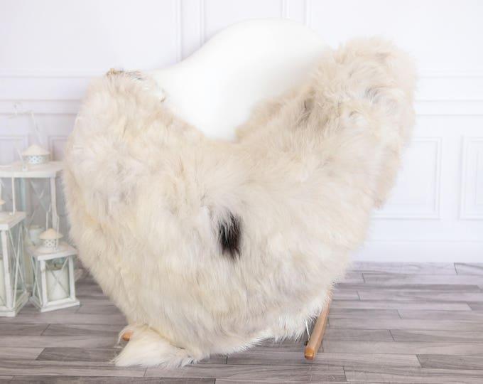 Organic Sheepskin Rug, Real Sheepskin Rug, Gute Sheepskin, Ivory Sheepskin Rug #GUTEFEB1