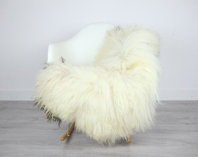 Icelandic Sheepskin | Real Sheepskin Rug | | Large Sheepskin Rug Beige | Fur Rug | Homedecor | Sheepskin Throw | Long fur #colisl28
