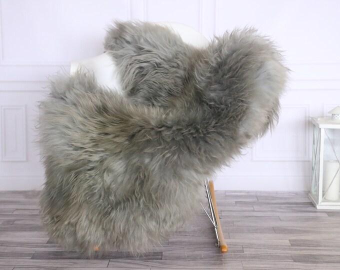 Icelandic Sheepskin | Real Sheepskin Rug | CHRISTMAS DECOR | Sheepskin Rug Gray | Fur Rug | Homedecor #LISISL23