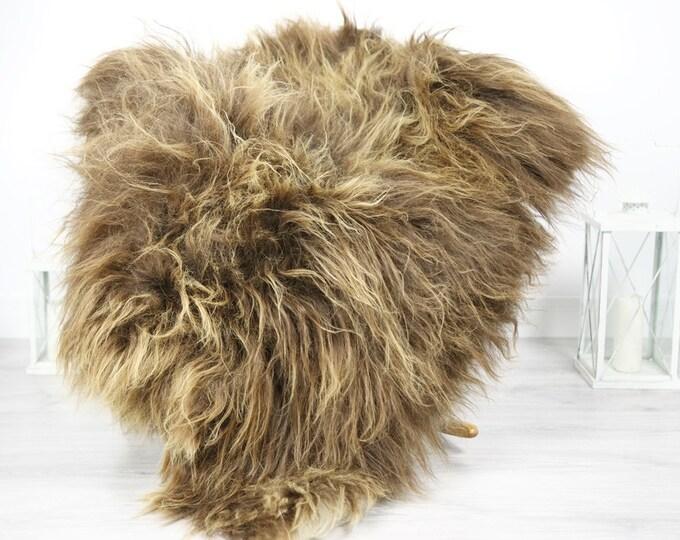 Icelandic Sheepskin   Real Sheepskin Rug   Sheepskin Rug Brown   Fur Rug   Homedecor #3Isl11