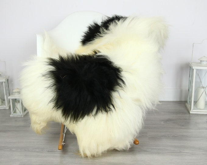 Icelandic Sheepskin | Real Sheepskin Rug | | Large Sheepskin Rug Ivory | Fur Rug | Homedecor | Sheepskin Throw | Long fur #colisl16