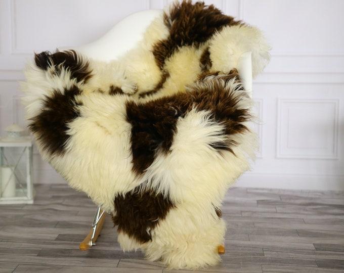 Sheepskin Rug | Real Sheepskin Rug | Shaggy Rug | Chair Cover | Sheepskin Throw | Beige Brown Sheepskin | Home Decor | #Apriher26
