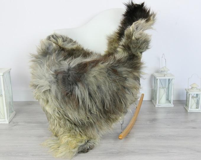 Sheepskin Rug | Real Sheepskin Rug | Shaggy Rug | Scandinavian Rug | Sheepskin Throw Gray Sheepskin | SCANDINAVIAN DECOR | #5HER1