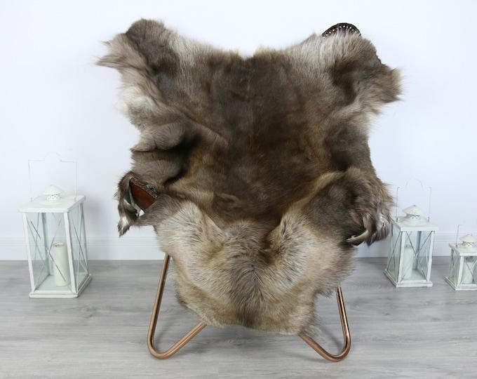Reindeer Hide | Reindeer Rug | Reindeer Skin | Throw XXL EXTRA LARGE - Scandinavian Style #HRE4