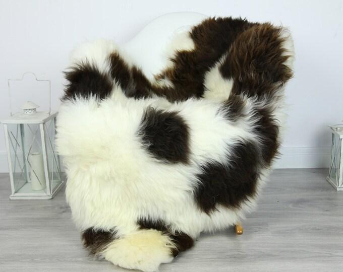 Sheepskin Rug | Huge Real Sheepskin Rug | Shaggy Rug | Chair Cover | XXL Sheepskin Throw | White Brown Sheepskin | Home Decor | #PRYMHER12