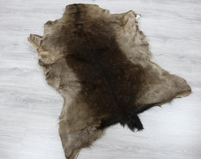 Deer Hide | Deer Rug | Deer Skin | Throw L  Large - Scandinavian Style | Home Decor | #SAR10