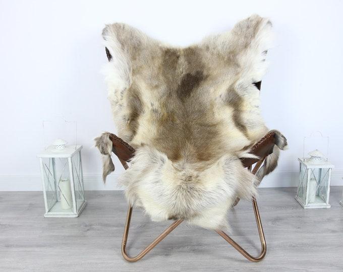 Reindeer Hide | Reindeer Rug | Reindeer Skin | Throw XXL EXTRA LARGE - Scandinavian Style #HRE3