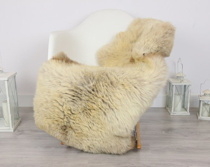 Sheepskin Rug   Real Sheepskin Rug   Shaggy Rug   Scandinavian Rug   Sheepskin Throw Brown Beige Sheepskin   SCANDINAVIAN DECOR   #5HER19