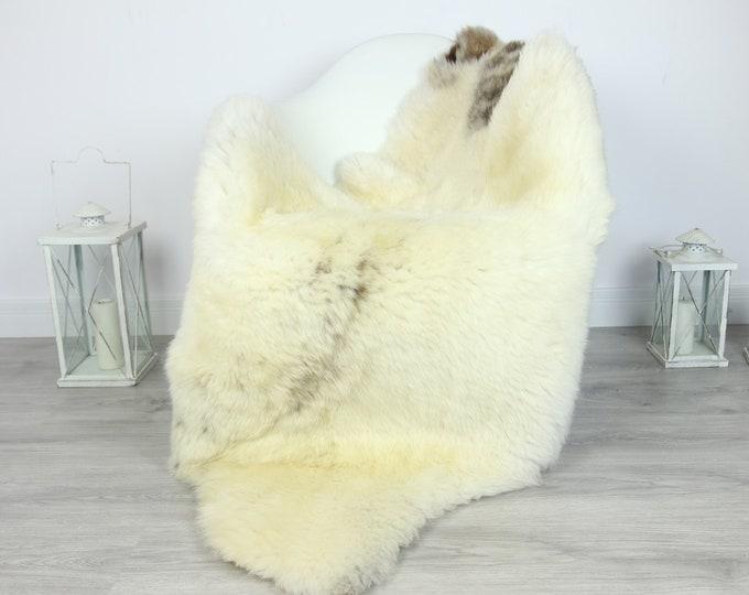 Sheepskin Rug | Huge Real Sheepskin Rug | Shaggy Rug | Chair Cover | XXL Sheepskin Throw | Ivory Brown Sheepskin | Home Decor | #PRYMHER9