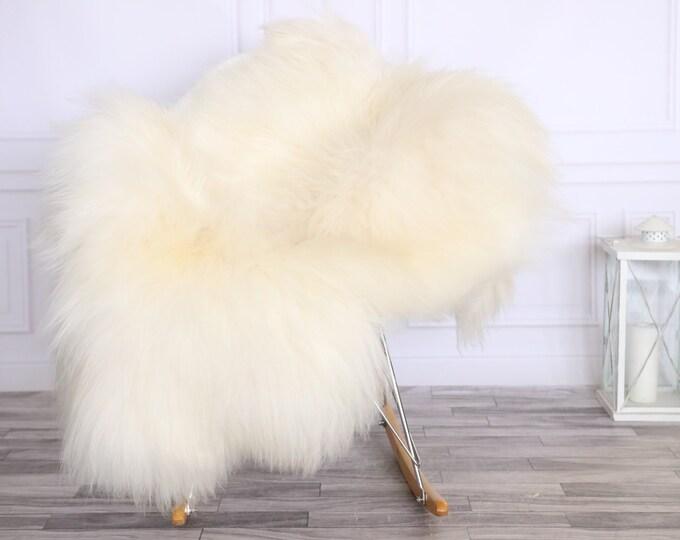 Icelandic Sheepskin | Real Sheepskin Rug | CHRISTMAS DECOR | Sheepskin Rug Ivory White | Fur Rug | Homedecor #LISISL32