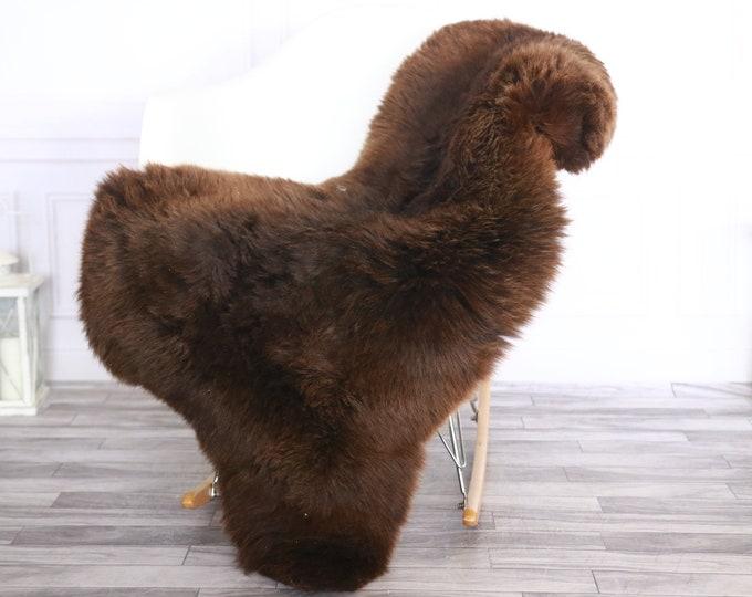 Sheepskin Rug | Real Sheepskin Rug | Shaggy Rug | Sheepskin Throw | Sheepskin Rug Brown | Chirtmas Home Decor | #1HER32