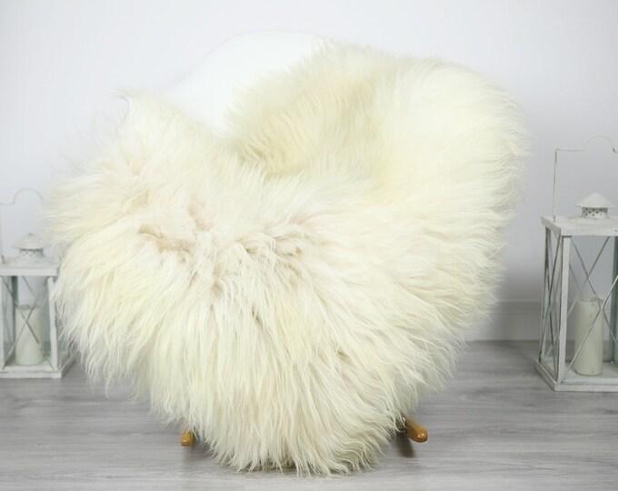 Icelandic Sheepskin   Real Sheepskin Rug   Sheepskin Rug Ivory Beige   Fur Rug   Homedecor #3Isl13