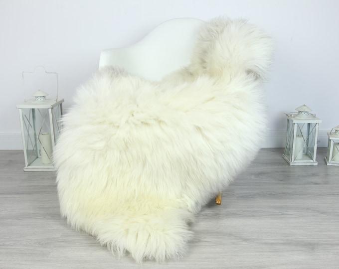 Sheepskin Rug | Huge Real Sheepskin Rug | Shaggy Rug | Chair Cover | XXL Sheepskin Throw | Gray Ivory Sheepskin | Home Decor | #PRYMHER4