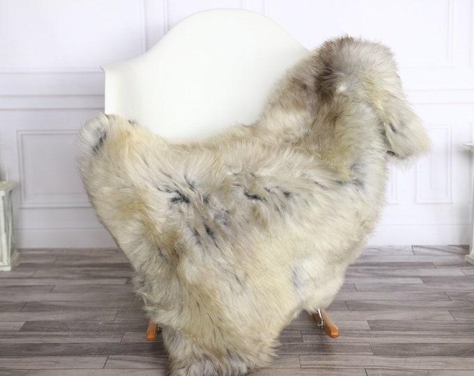 Sheepskin Rug | Real Sheepskin Rug | Shaggy Rug | Sheepskin Throw | Sheepskin Rug Brown Gray | Chirtmas Home Decor | #1HER26