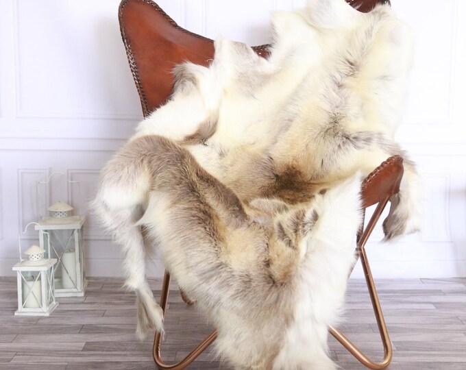 Reindeer Hide | Reindeer Rug | Reindeer Skin | Throw XXL EXTRA LARGE - Scandinavian Style #FRE15