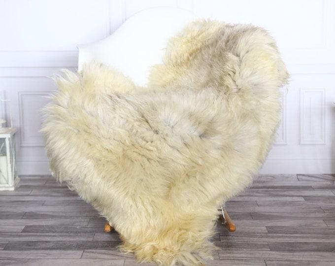 Sheepskin Rug | Real Sheepskin Rug | Shaggy Rug | Sheepskin Throw | Sheepskin Rug Beige | Chirtmas Home Decor | #1HER38