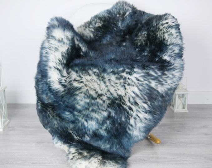 Sheepskin Rug | Real Sheepskin Rug | Shaggy Rug | Scandinavian Rug | Sheepskin Throw Blue Tips Sheepskin | SCANDINAVIAN DECOR | #3HER8